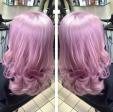 Gemini Hair Style_purple pink